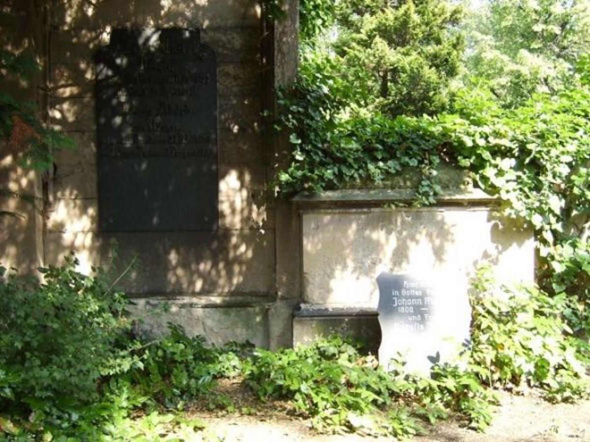Family Meyer/von Meyer grave site...Trinitatis Cemetery Dresden (C)