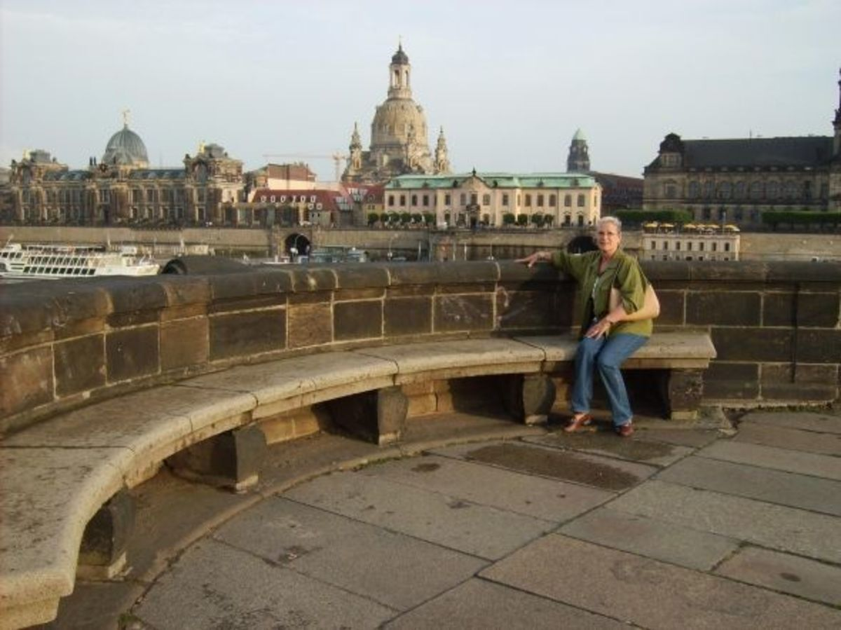 My first visit to Dresden