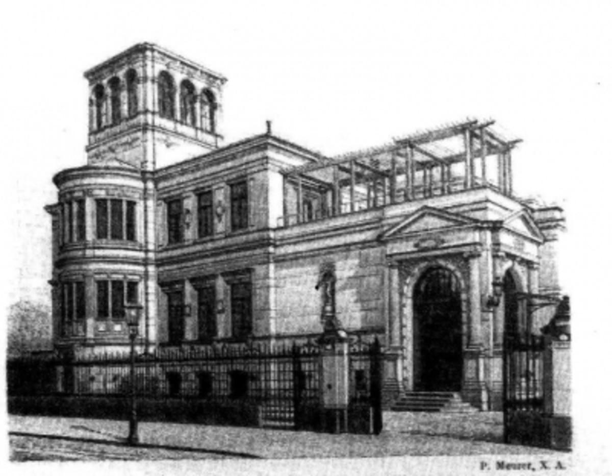 Villa Meyer drawing