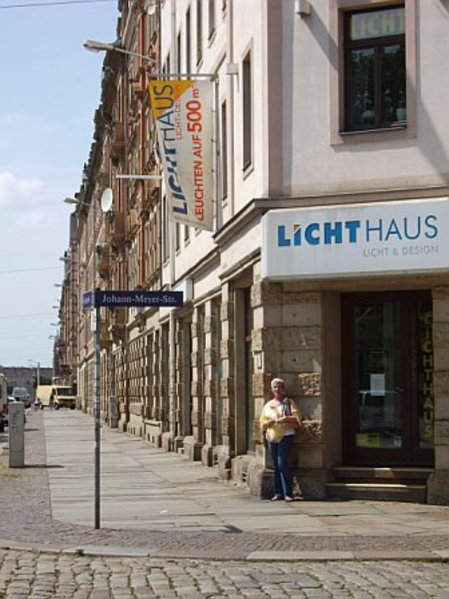 Delia on Johann-Meyer Strasse Dresden