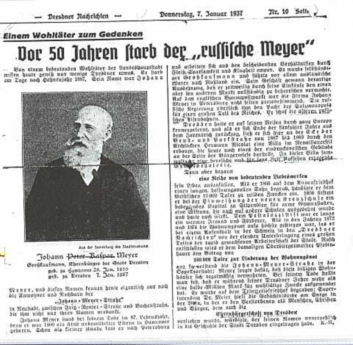 Johann Meyer  - Russische Meyer