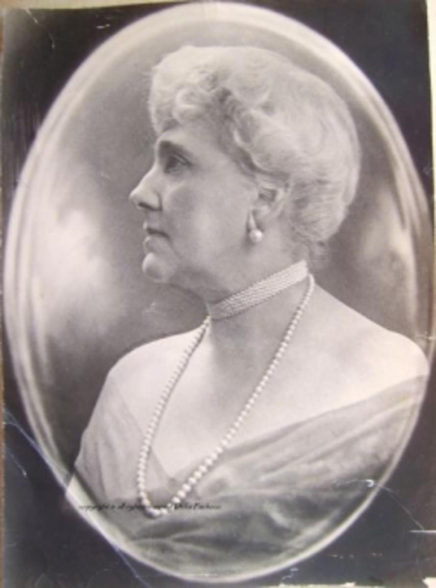 My grandmother Georgianna von Meyer (Ives)