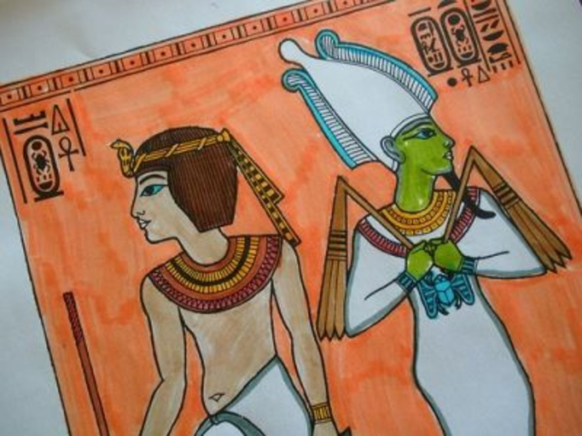 Egypt Coloring Book Project