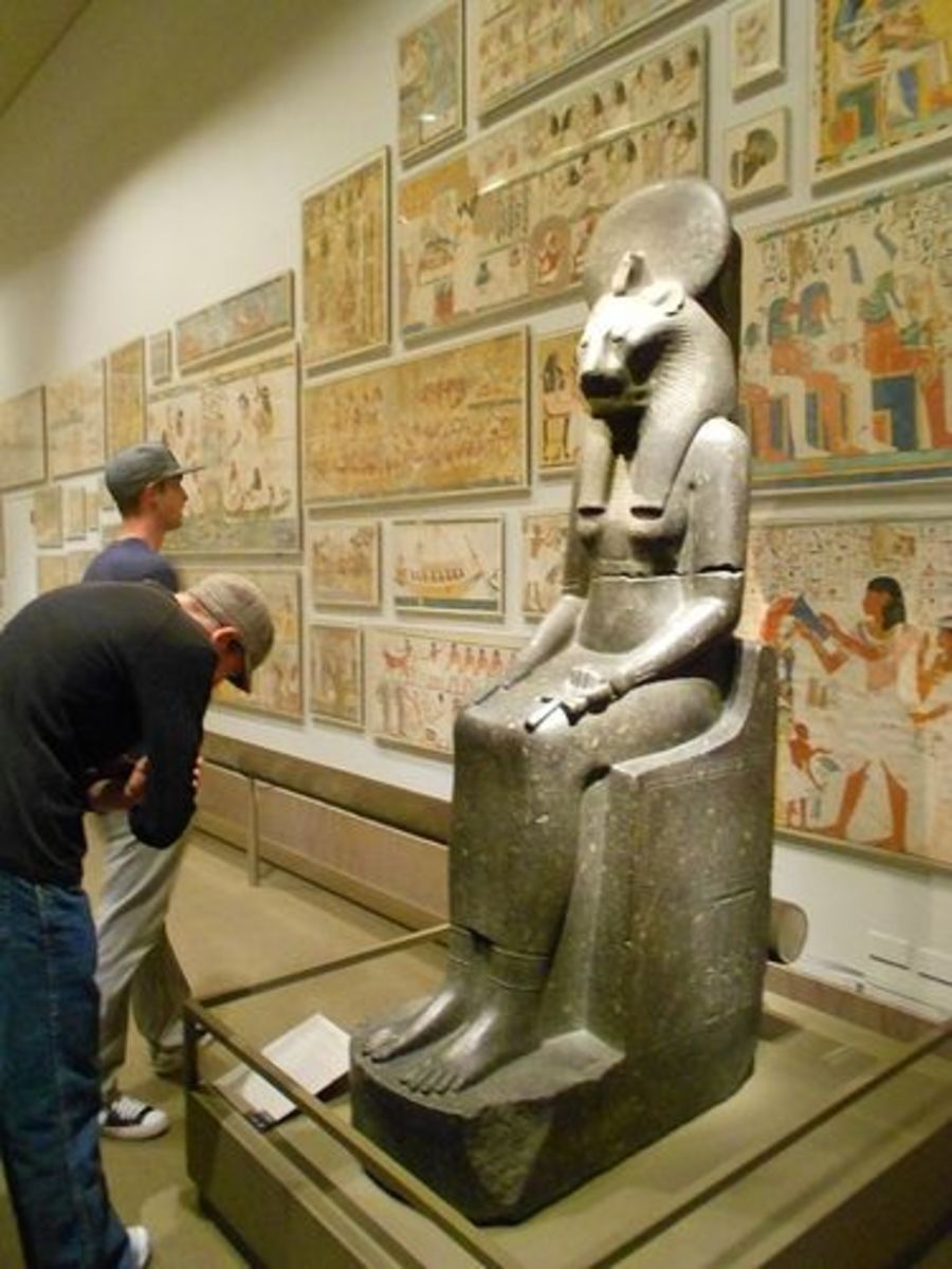Egyptian Gallery - The Met in NYC