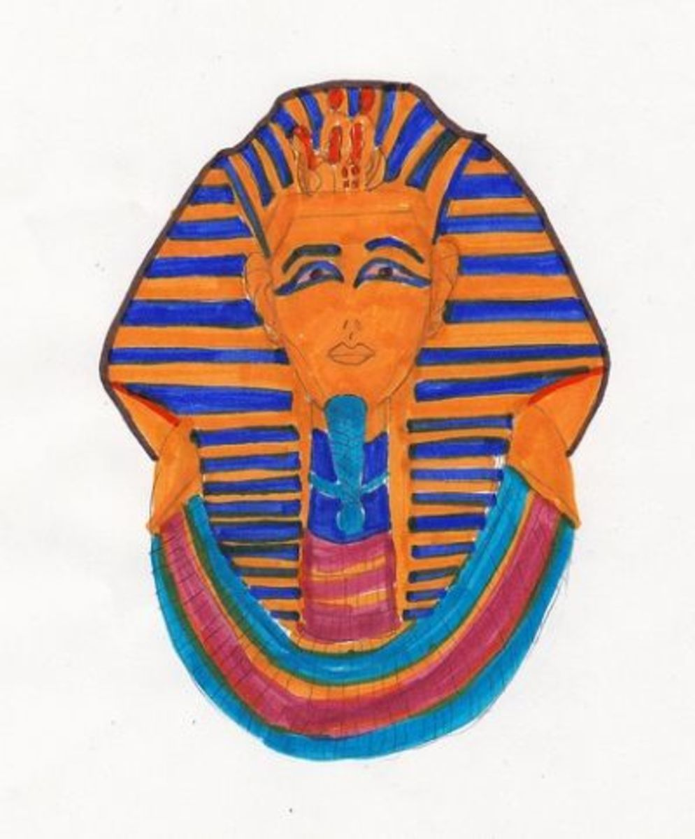 From the Ancient Egyptian Drawing Book