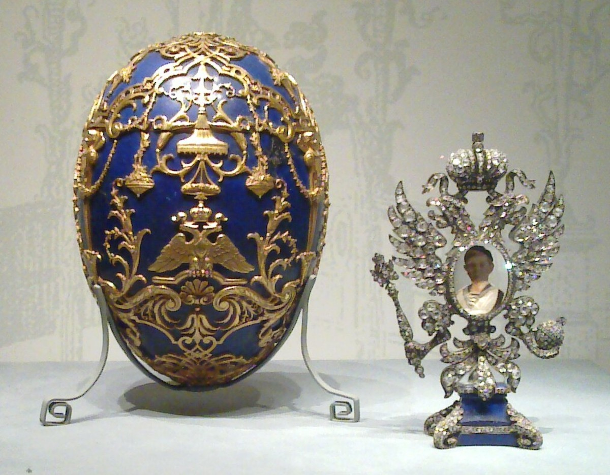 The Faberge Tsarevich Egg And Surprise 1912
