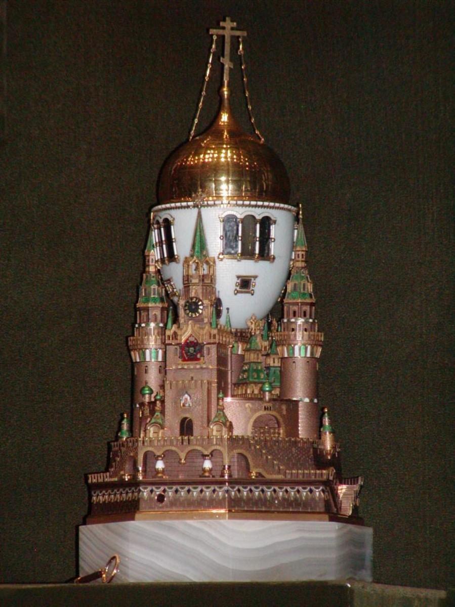The Faberge Kremlin Egg 1906
