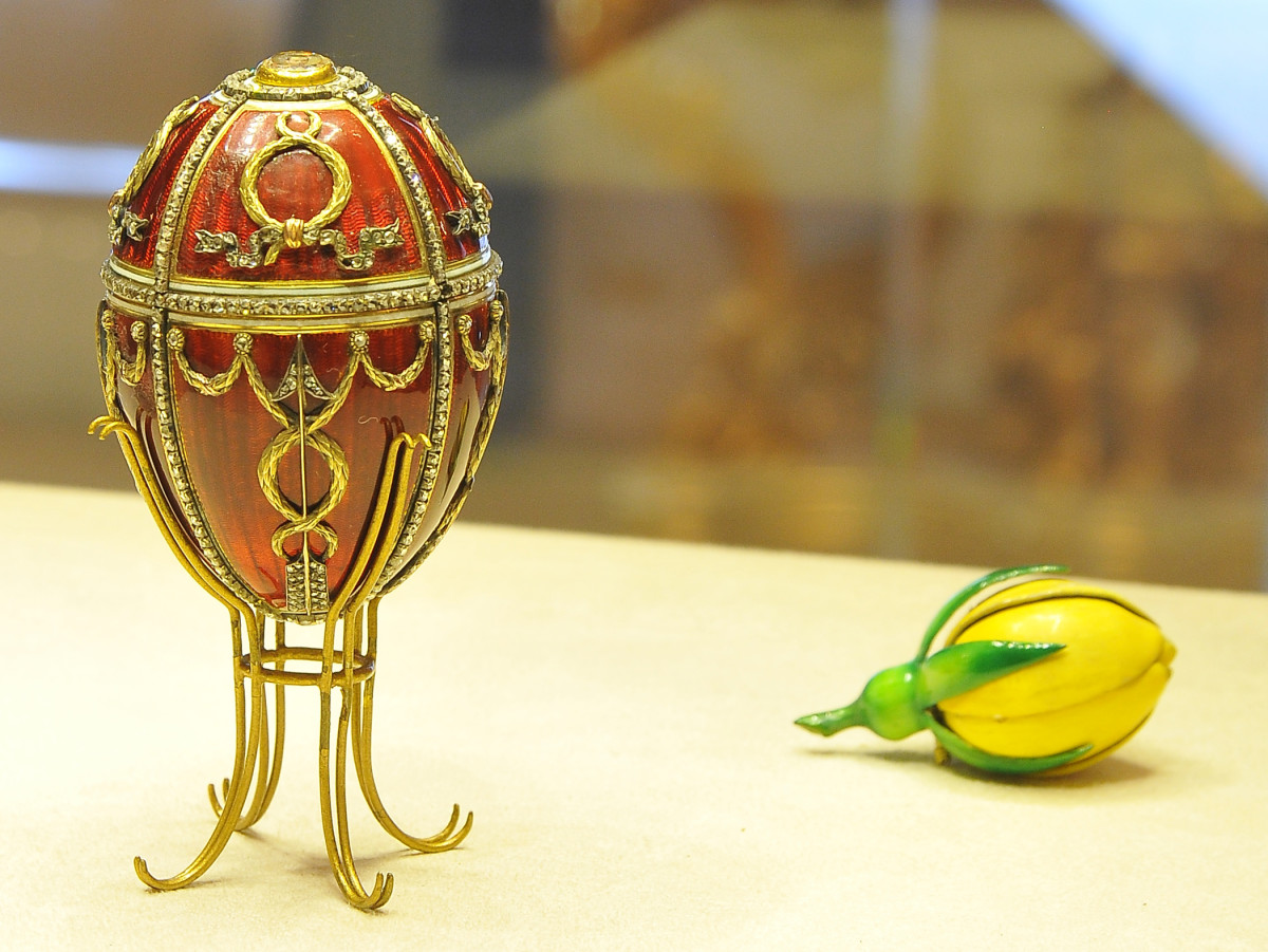 The Faberge Rosebud Egg 1895