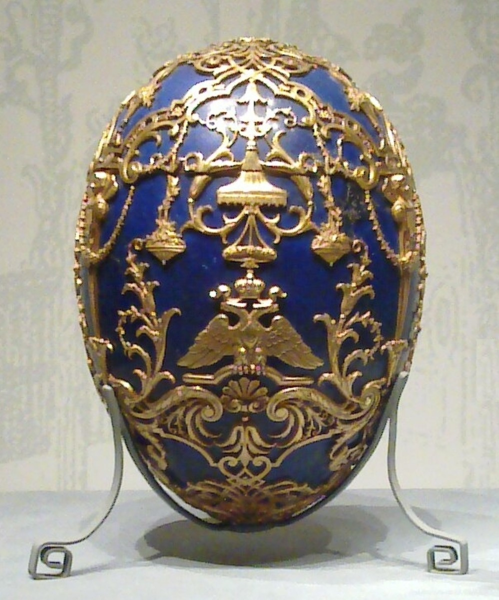 The Faberge Tsarevich Egg 1912