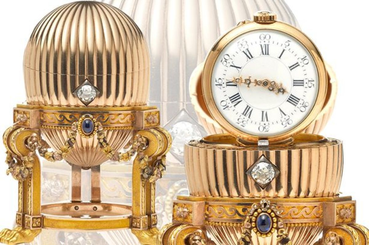 The Faberge Third Imperial Egg 1887