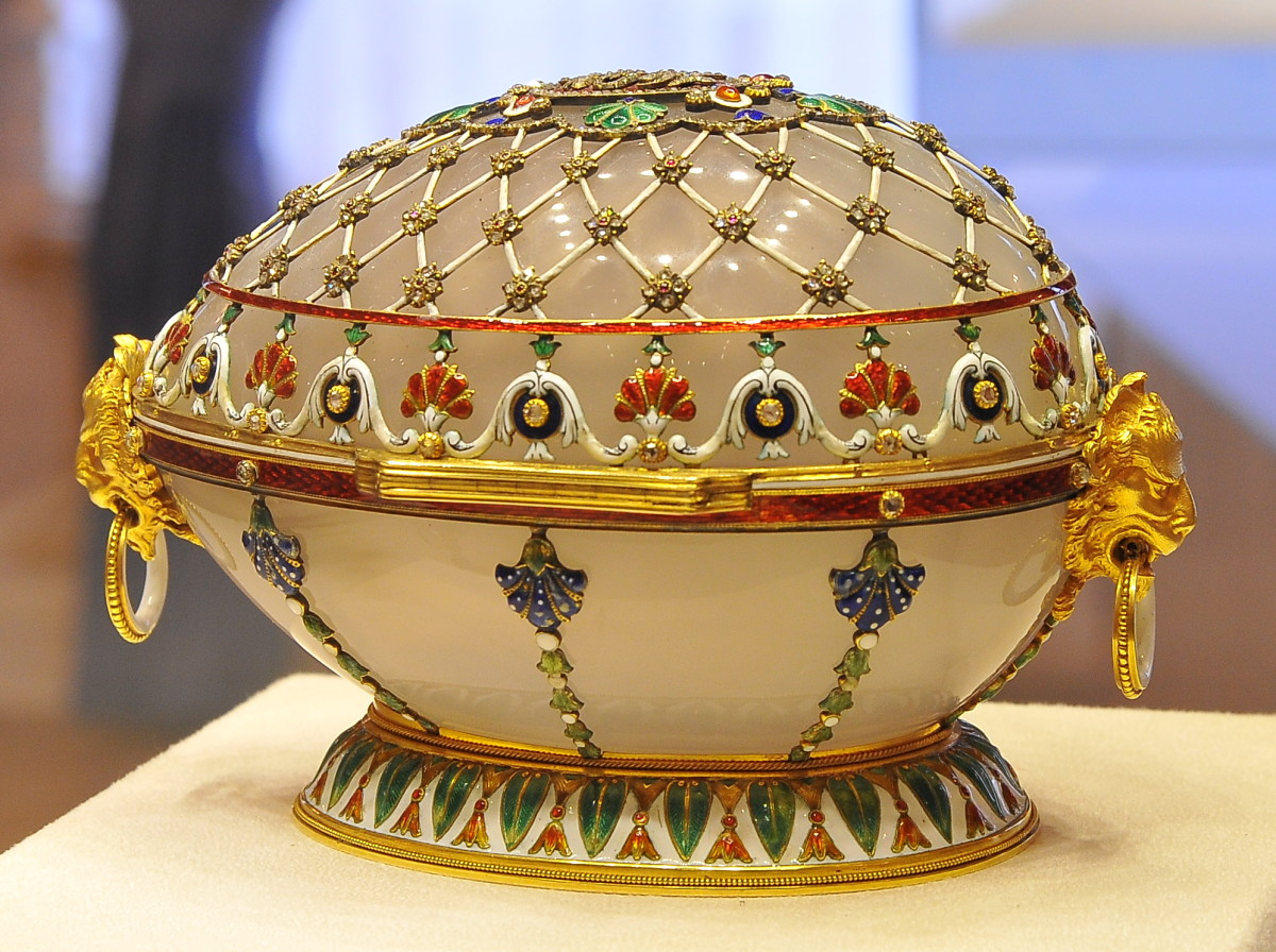 The Faberge Renaissance Egg 1894