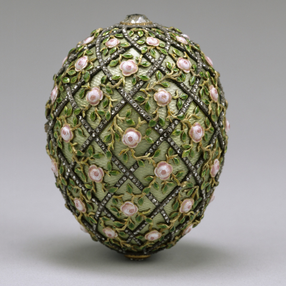 The Faberge Rose Trellis Egg 1907