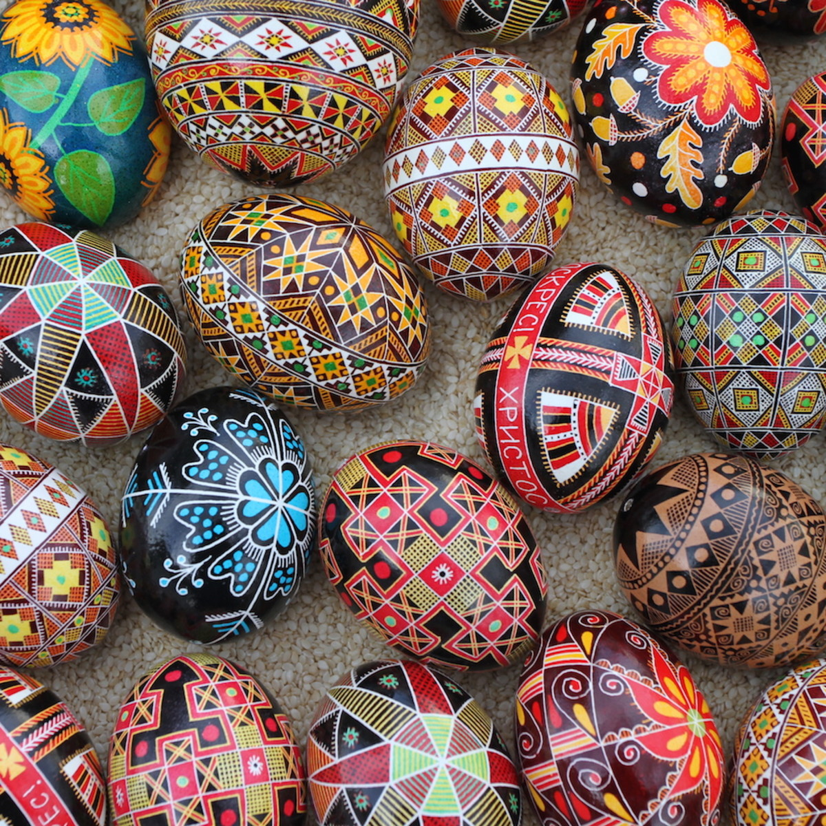 Beautiful Russian Easter Eggs