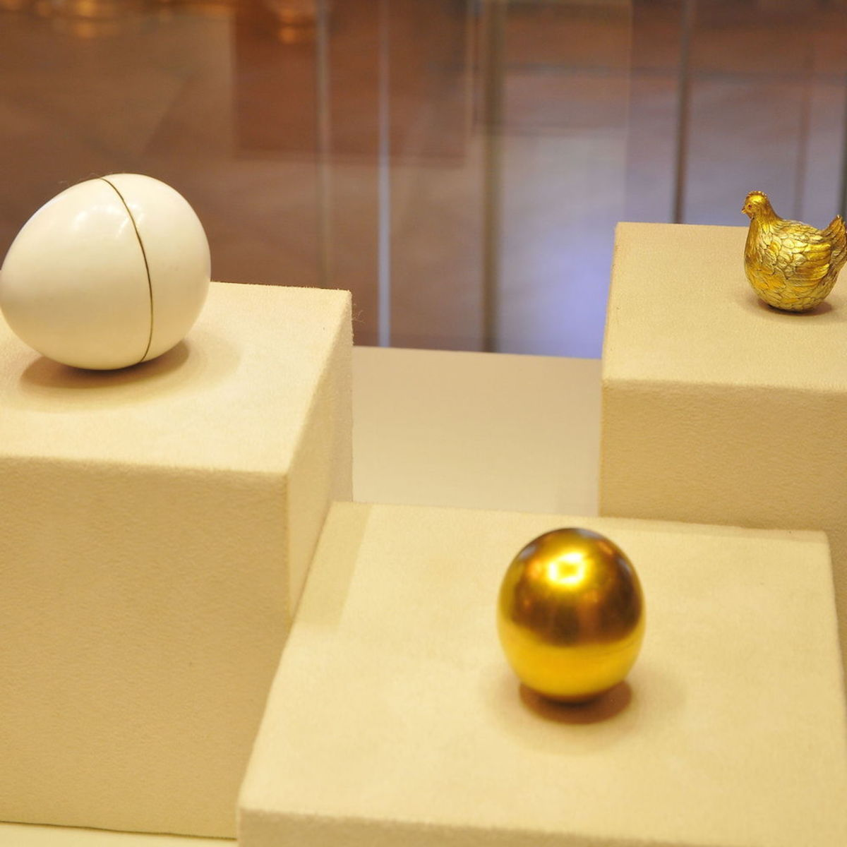 The Faberge Hen Egg And Surprise 1885
