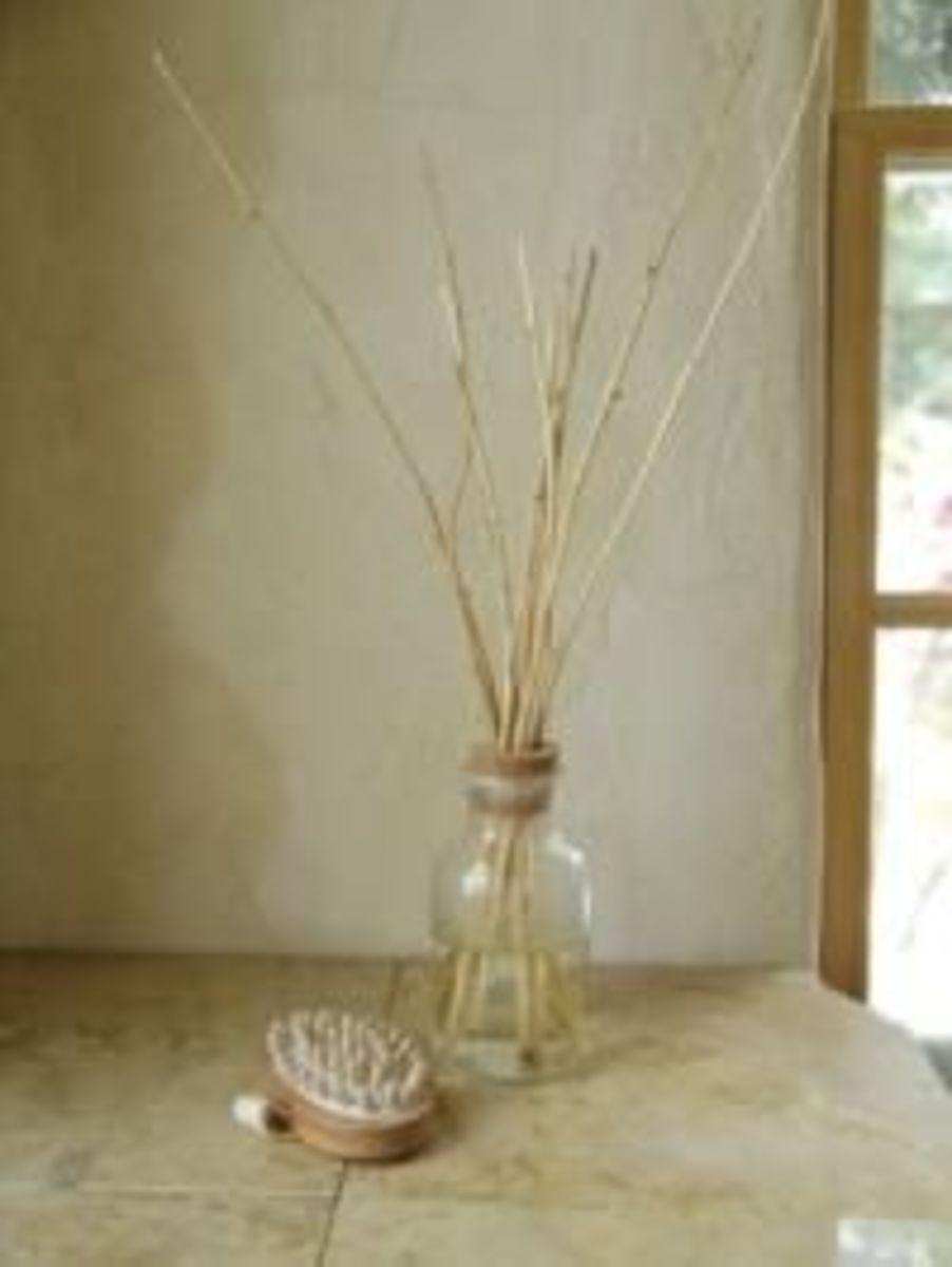 Homemade scent diffuser