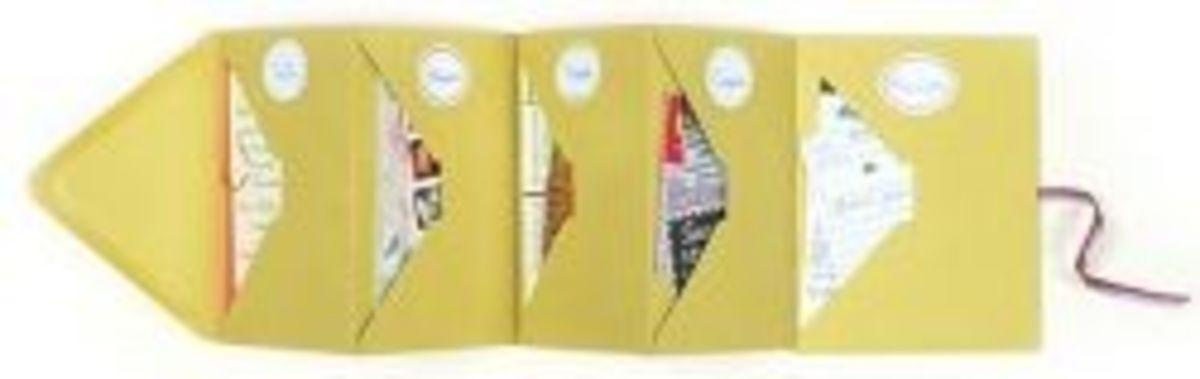 Envelope Accordion Book