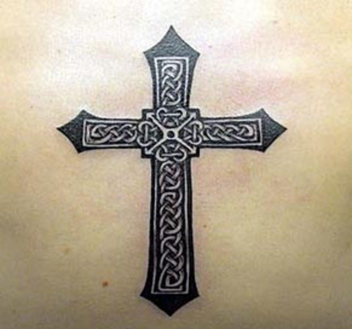 Flickr Images: EvilLittleBlue: Celtic Cross