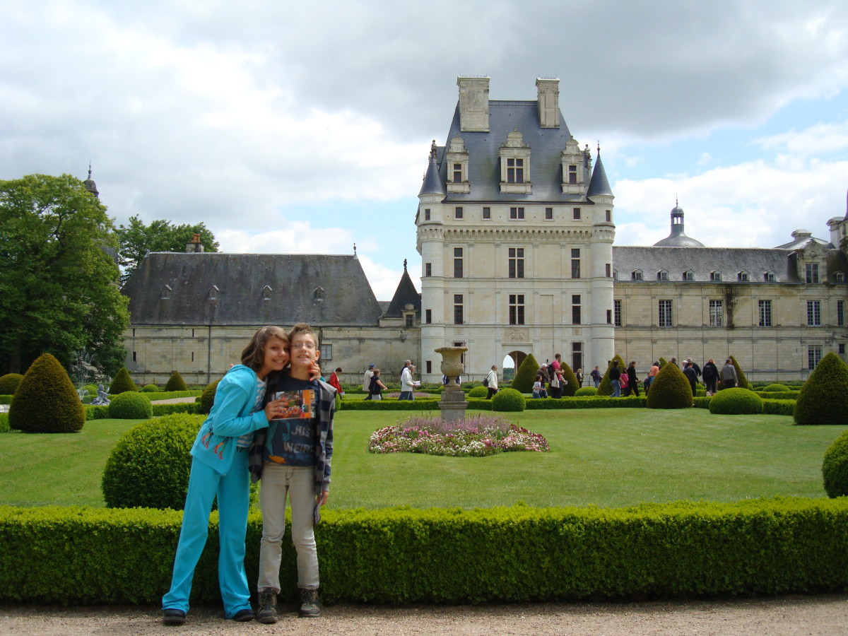 Valençay: A Child Friendly Castle.  My little ones love it year after year.
