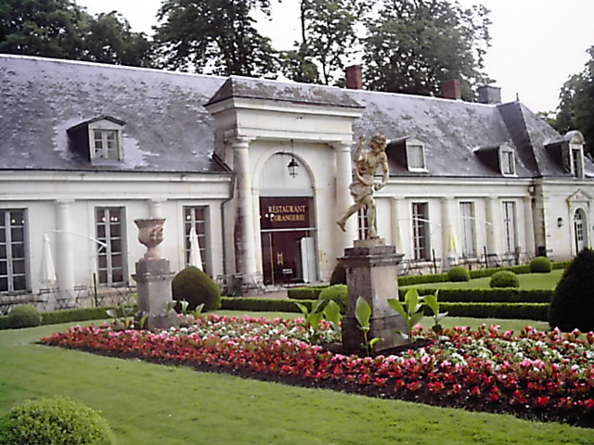 "The restaurant ""L'Orangerie"""