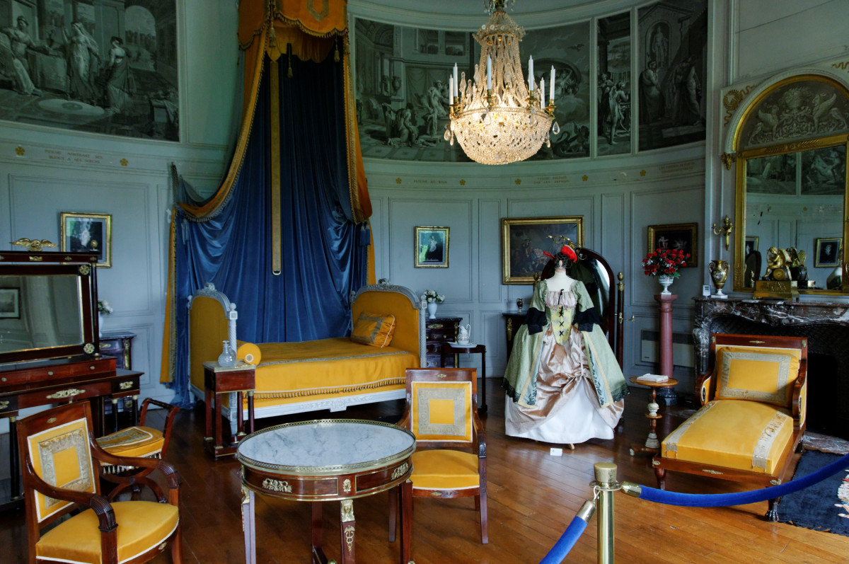 Château de Valençay, King of Spain's Bedroom