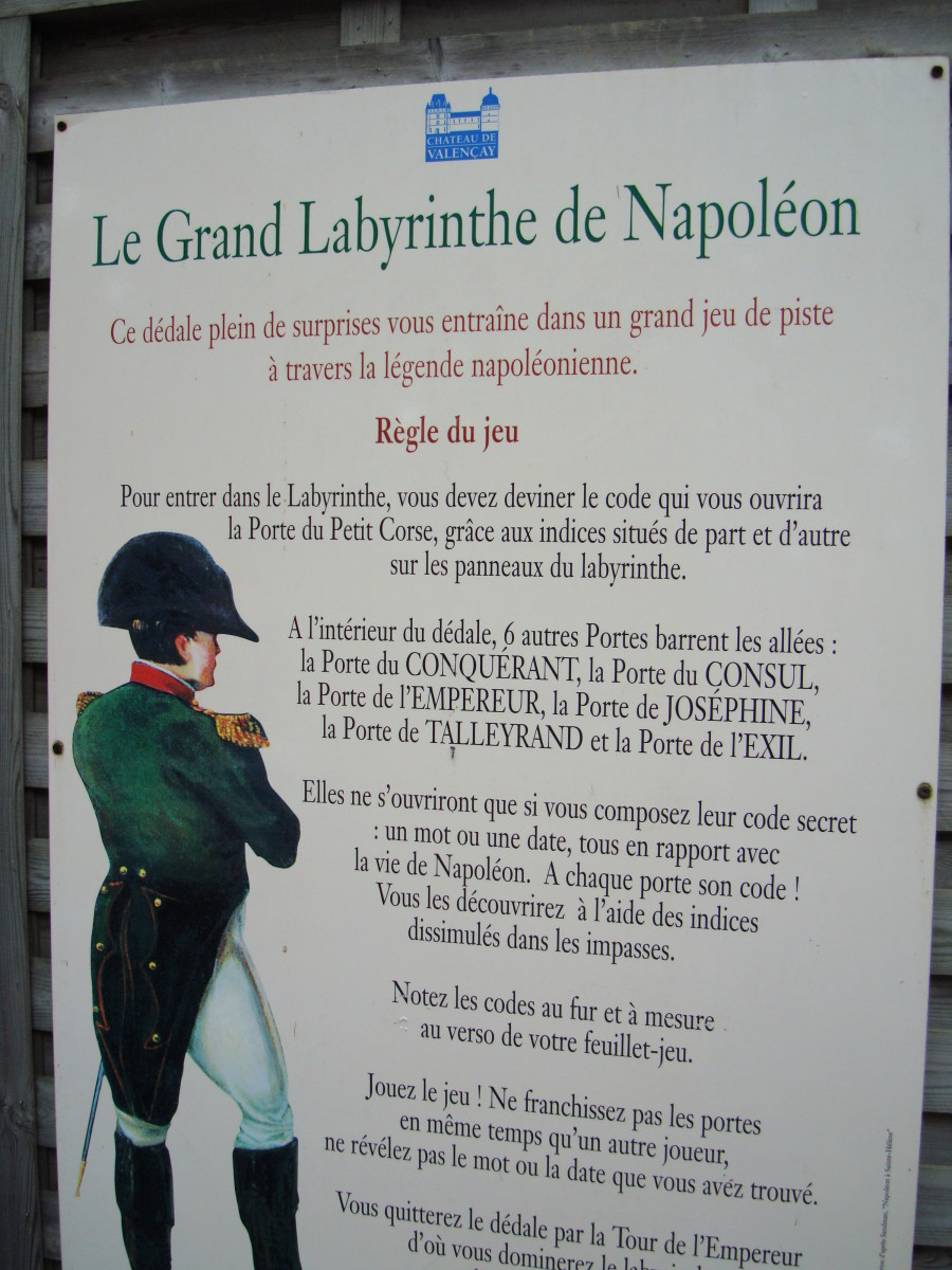 Napoleon's Great Labyrinth at Chateau de Valençay