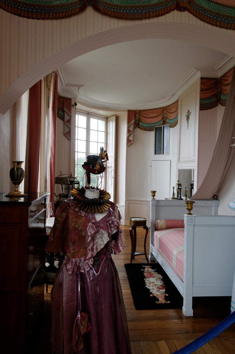 Chambre de Madame de Staël, Château de Valençay,France