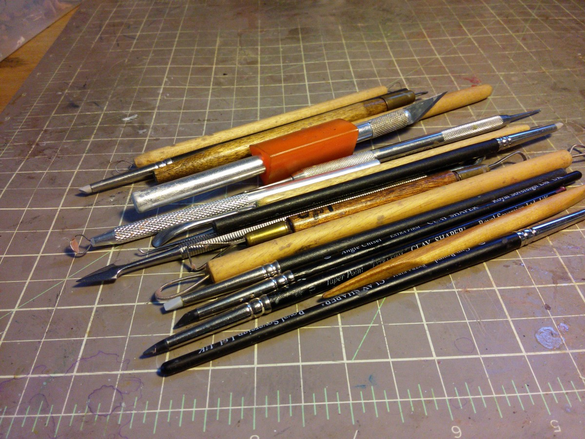 Polymer Clay Sculpting Tools