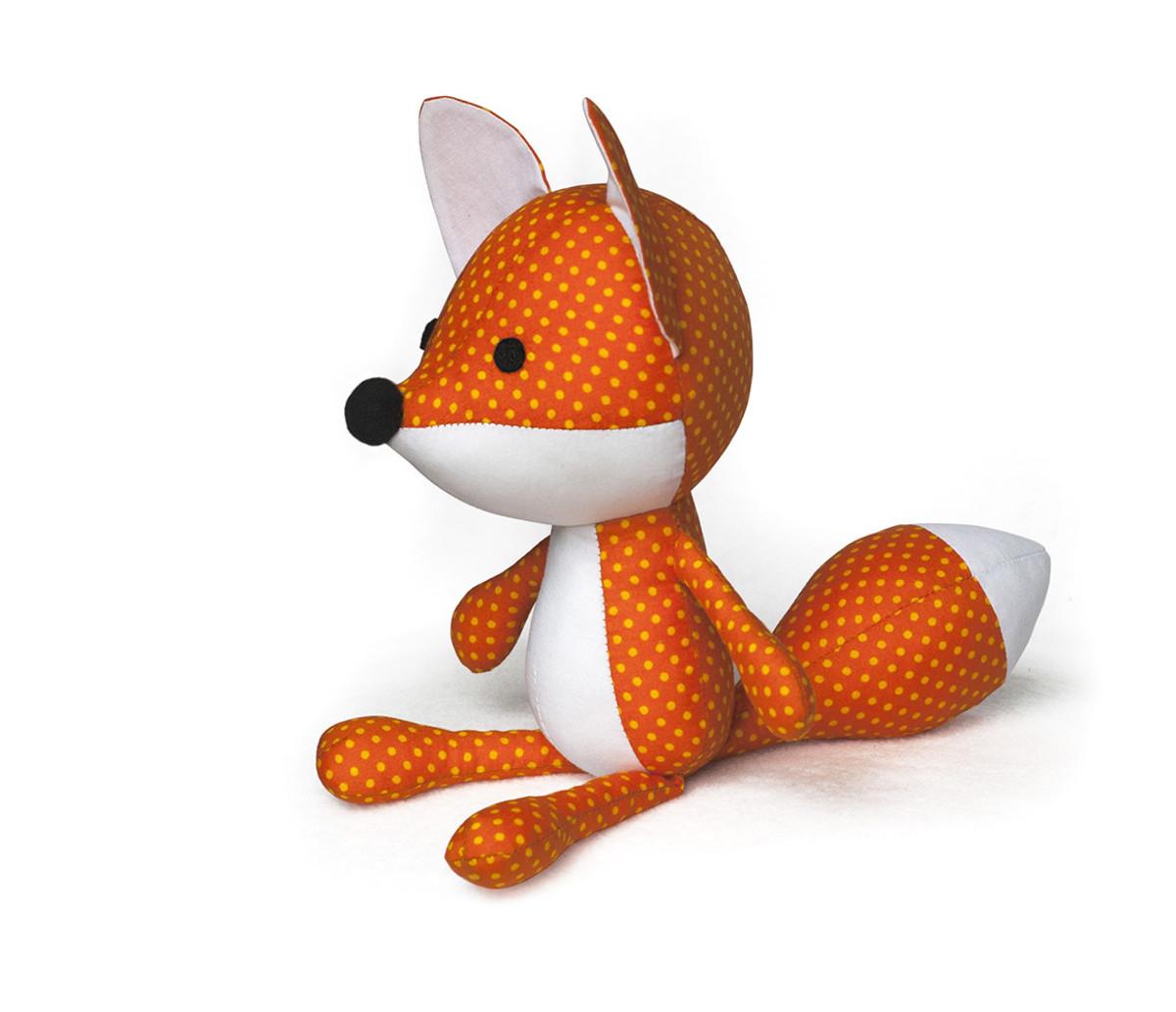 Fox softie pattern Adorabel fox to sew yourself!
