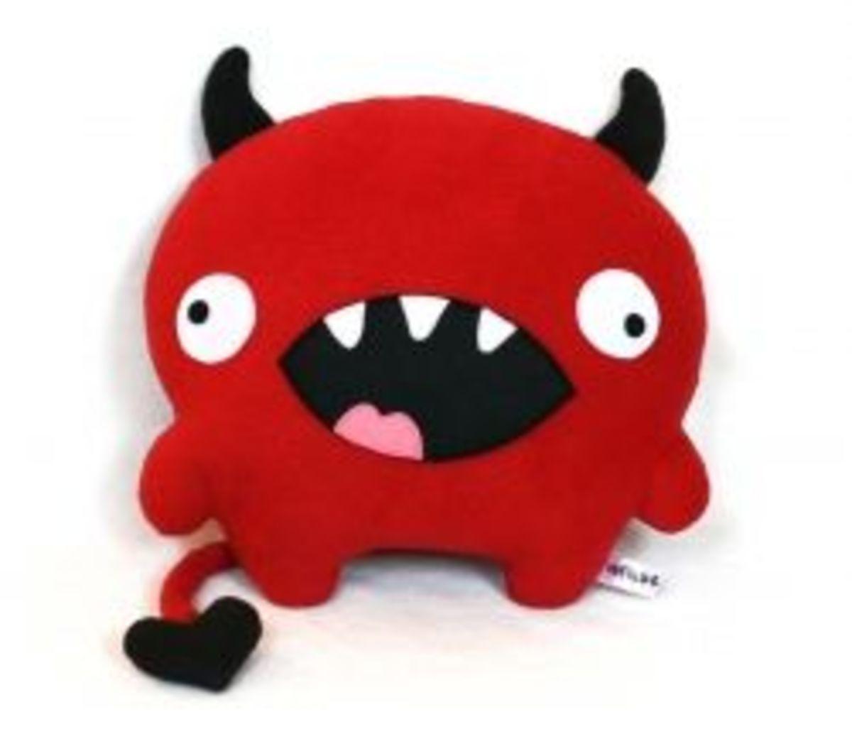love devil soft toy pattern