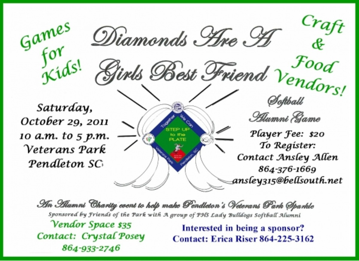 Diamonds Are A Girls Best Friend  Raised $1,025.93 - Softball, Crafts, Food, Games and lots of fun for everyone!