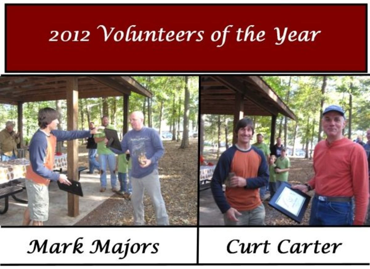 2012 Volunteers of the Year for Friends of the Park