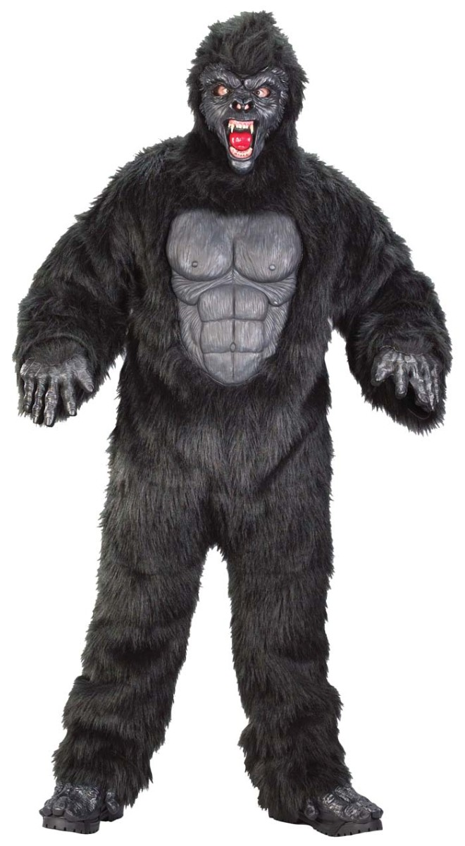 Here's a King Kong costume idea.