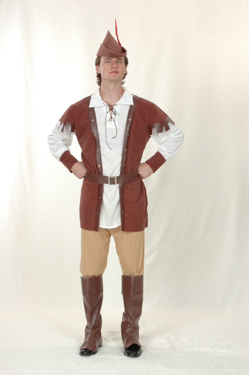"""Use a costume like this to dress up as Kevin Costner in """"Robin Hood: Price of Thieves."""""""