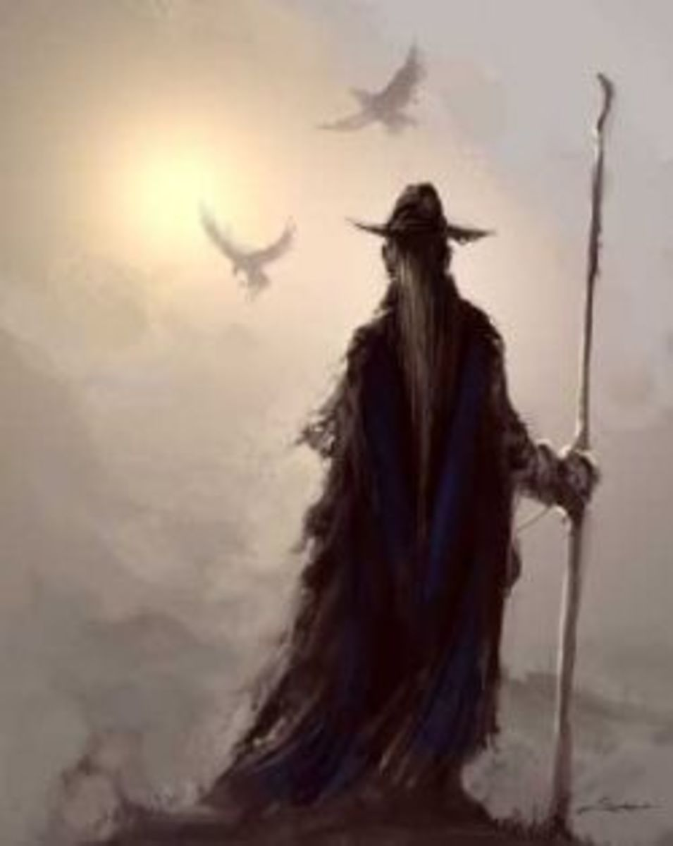 Odin the Wanderer, Father of the North