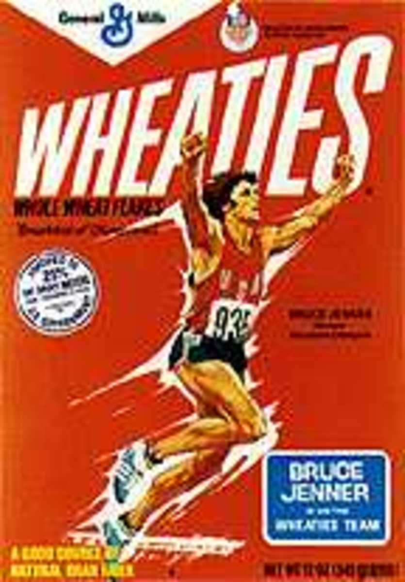 Olympic Decathlon winner Bruce Jenner.
