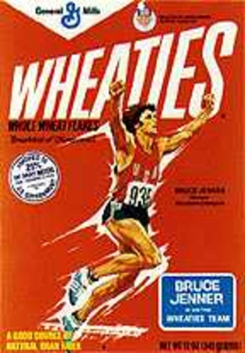 Olympic Decathlon winner Bruce Jenner.