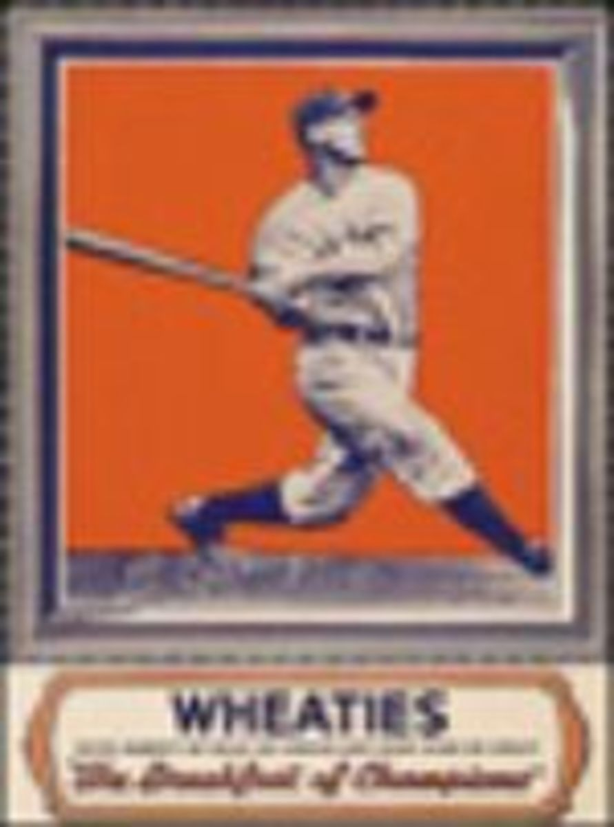 The first Wheaties Box Athlete.