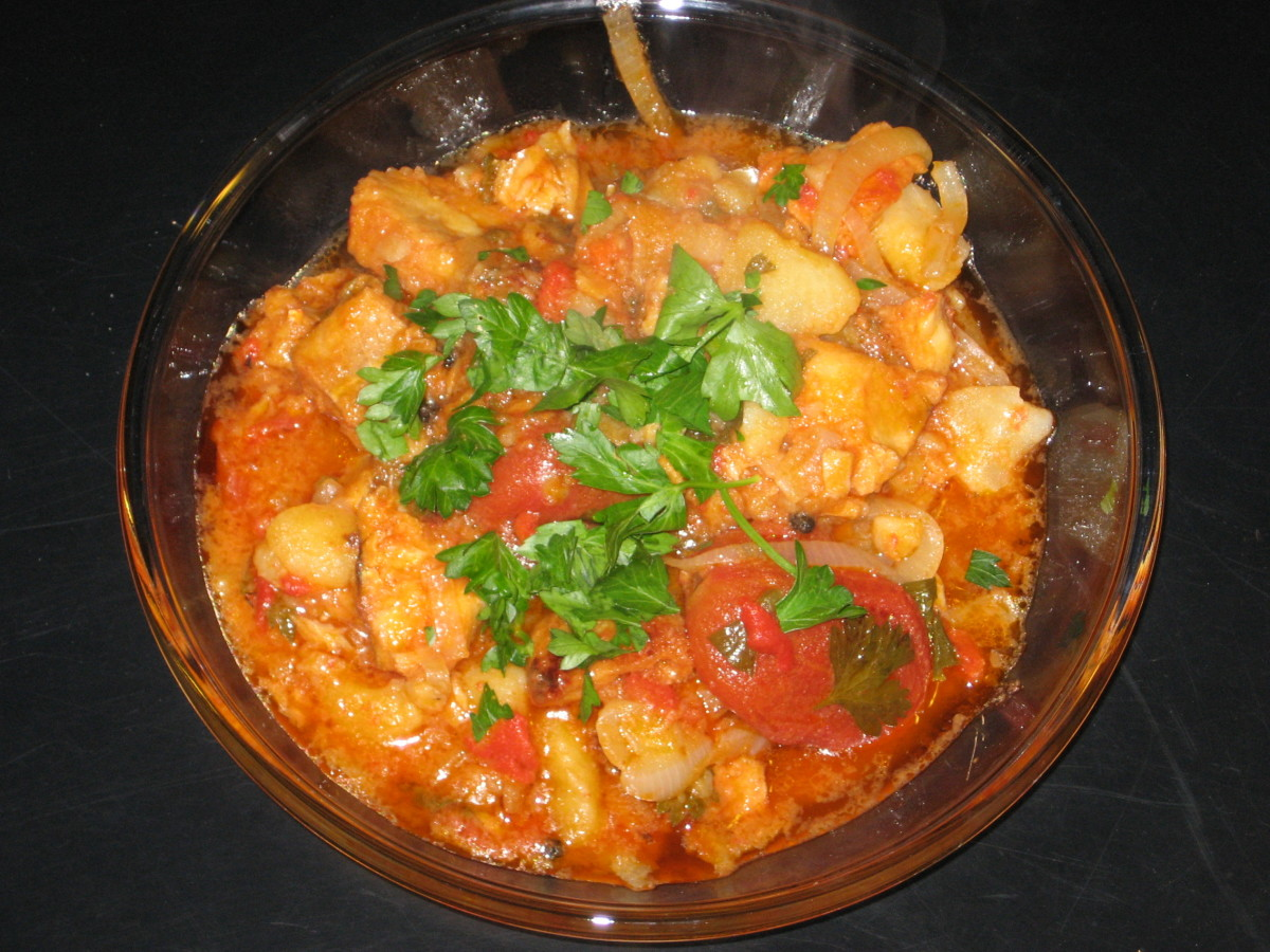 Bacalao stew recipe for Cod fish stew