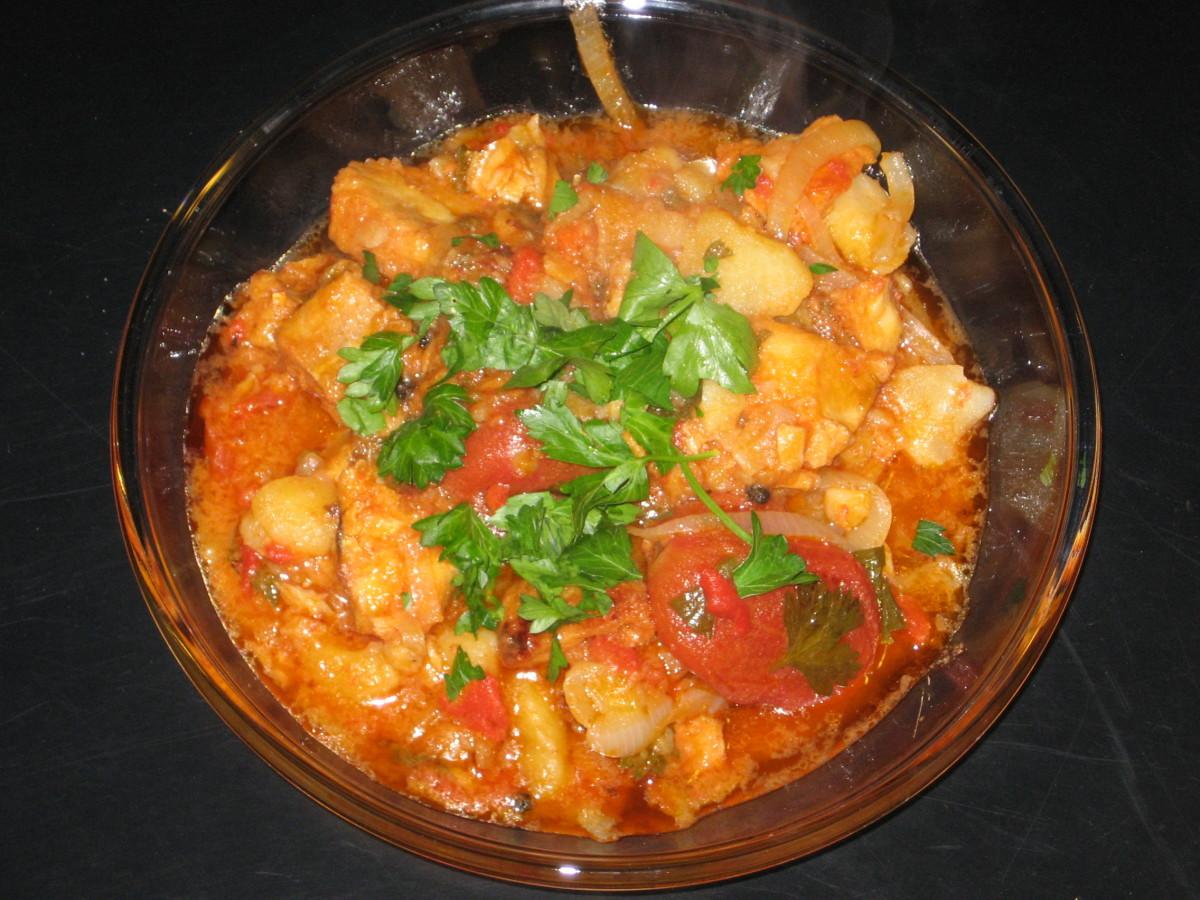 Bacalao stew recipe