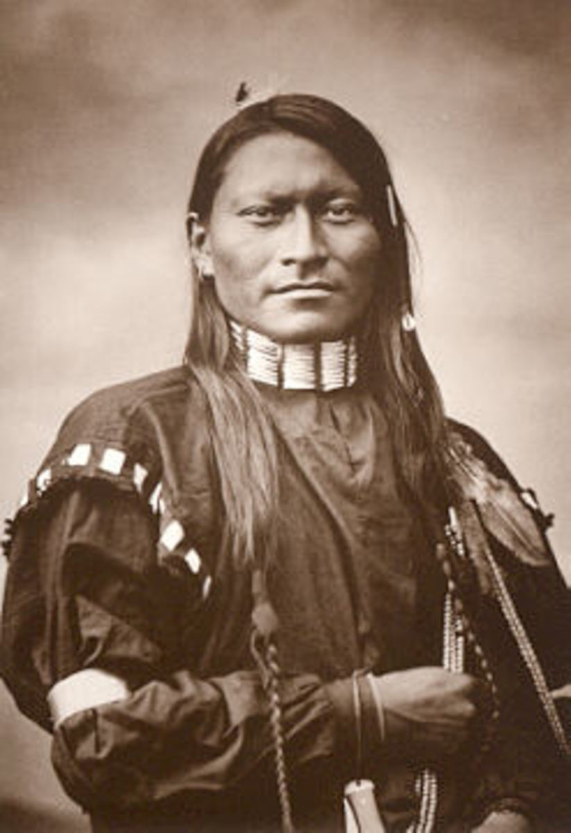 Red Armed Panther, Cheyenne