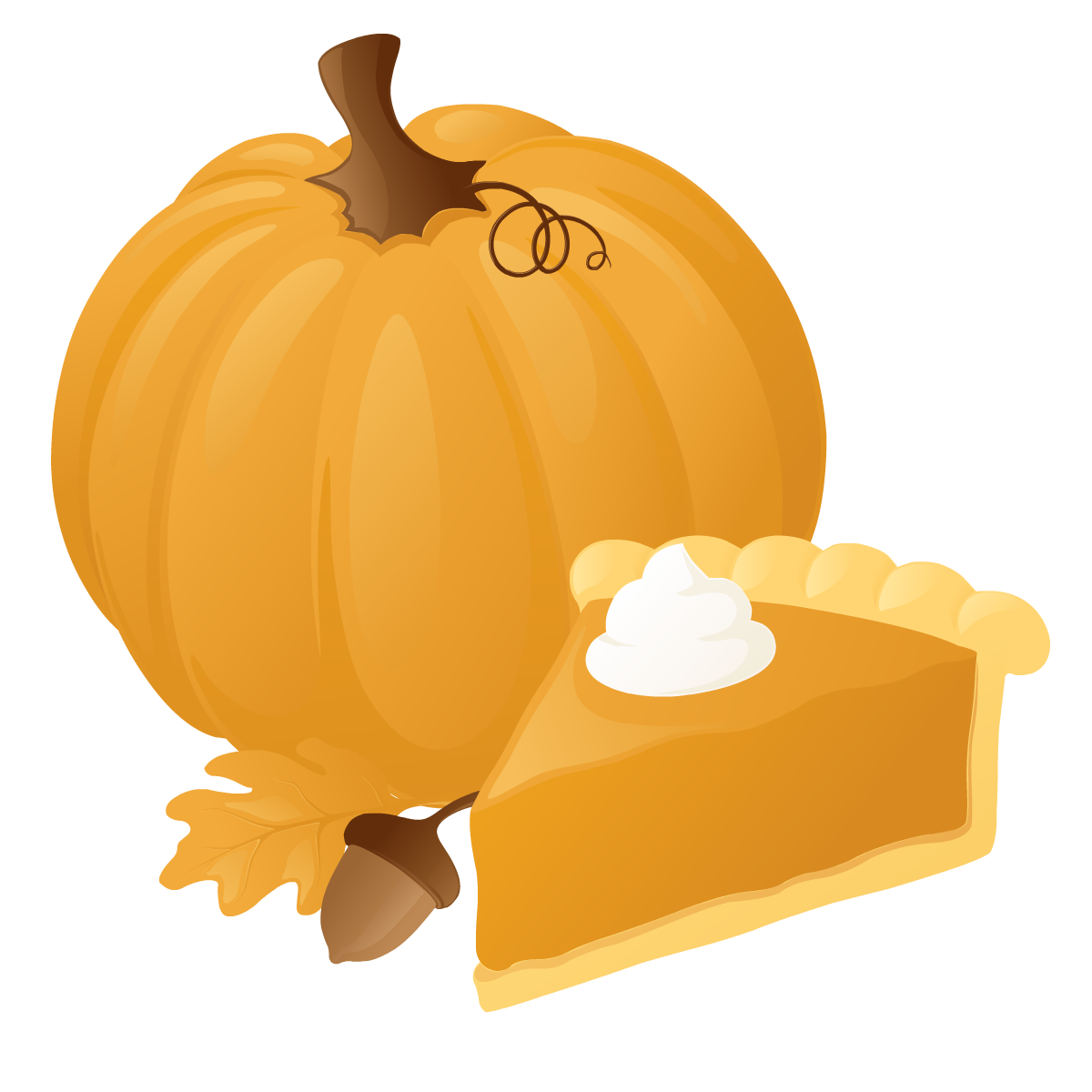 Thanksgiving pumpkin clip art