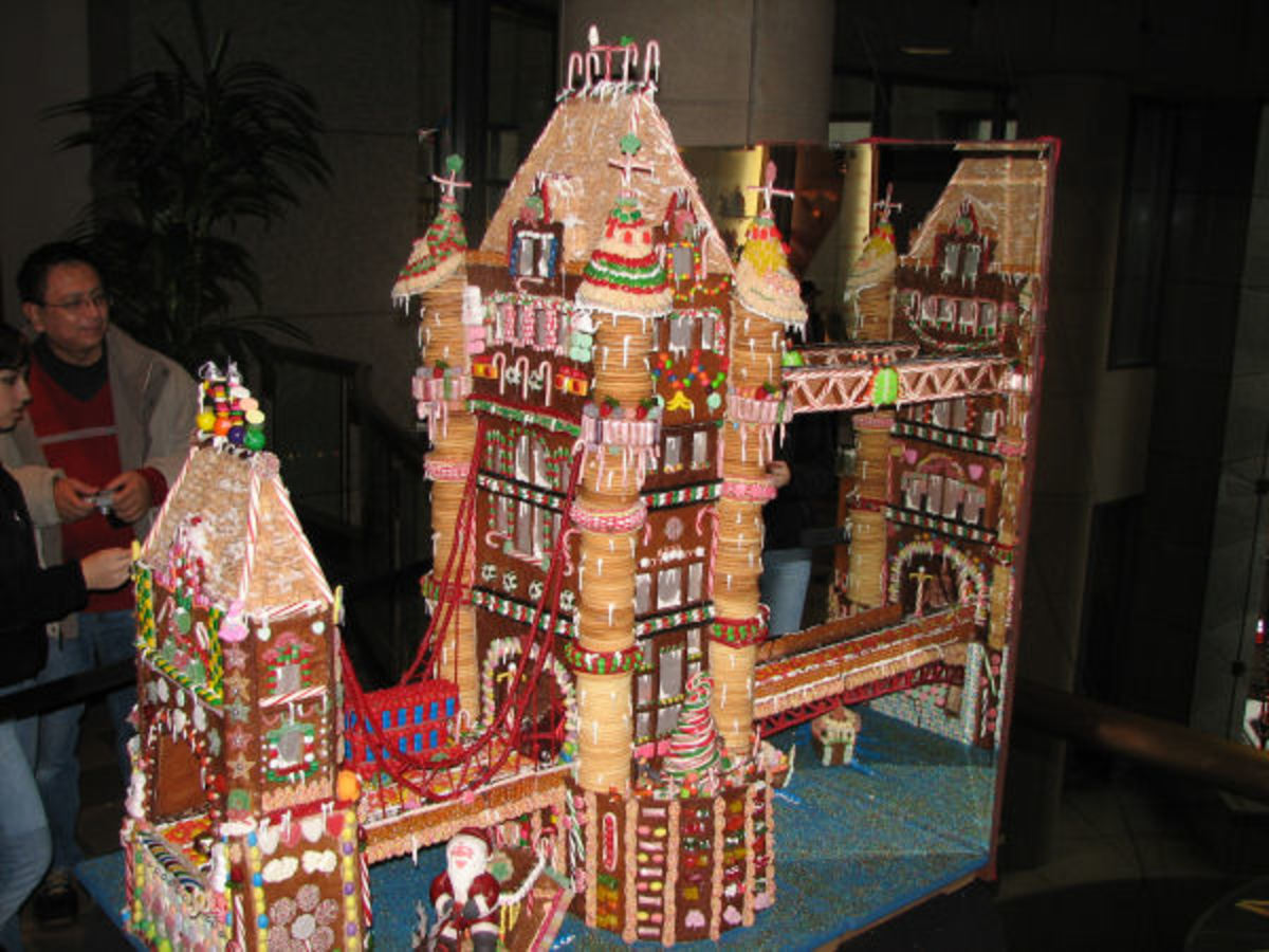 Check Out This Great Ginger Bread House