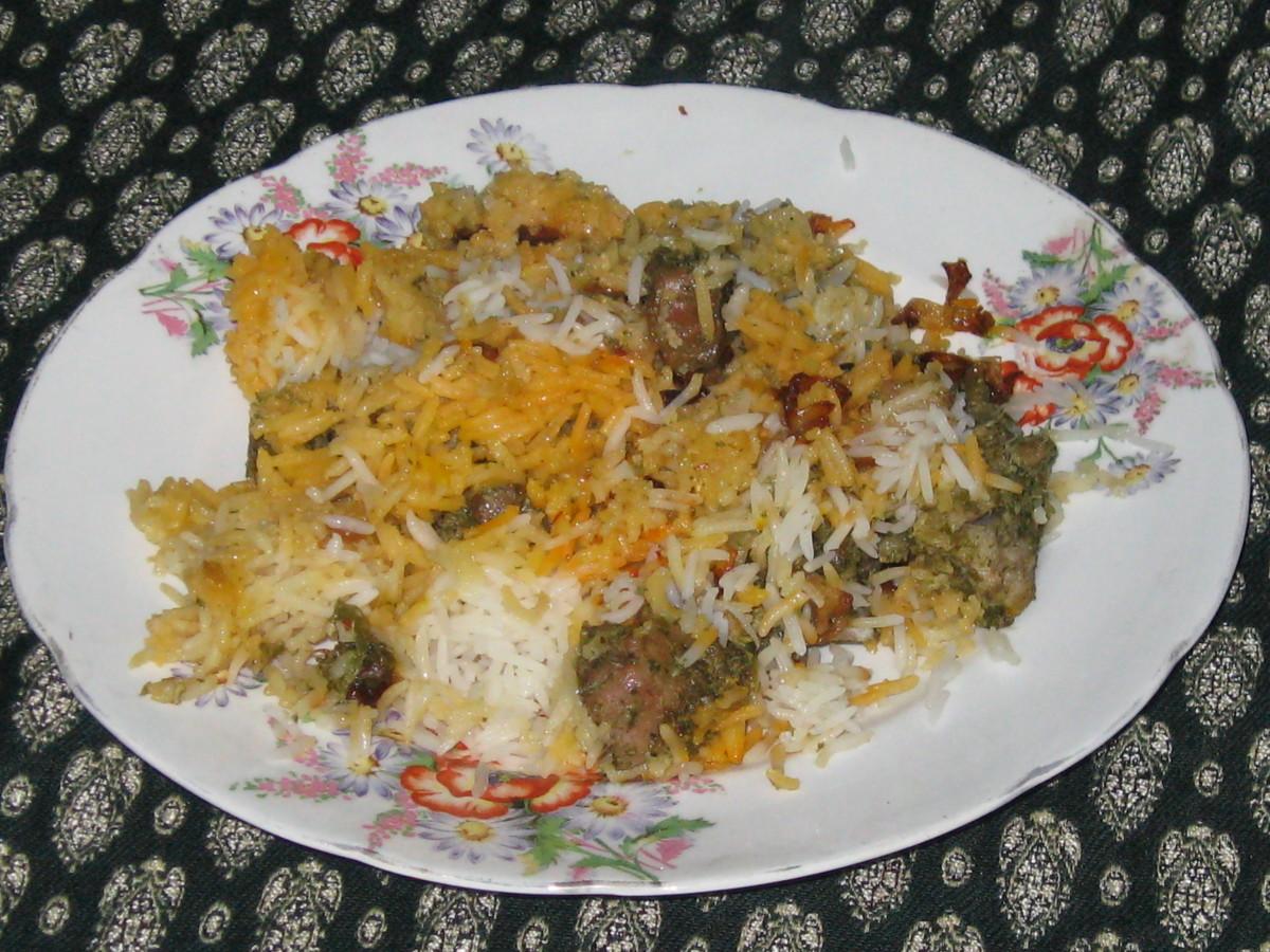 Mughlai Mutton Biryani Recipe