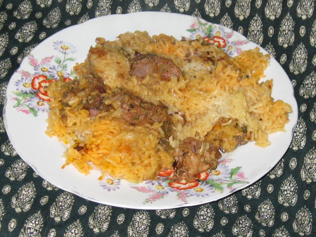 Delicious Mutton Biryani