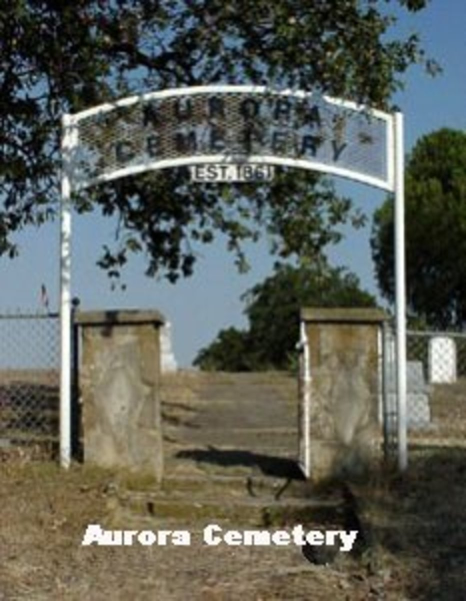 Cemetery Where The Alien Body Is Said To Be Buried