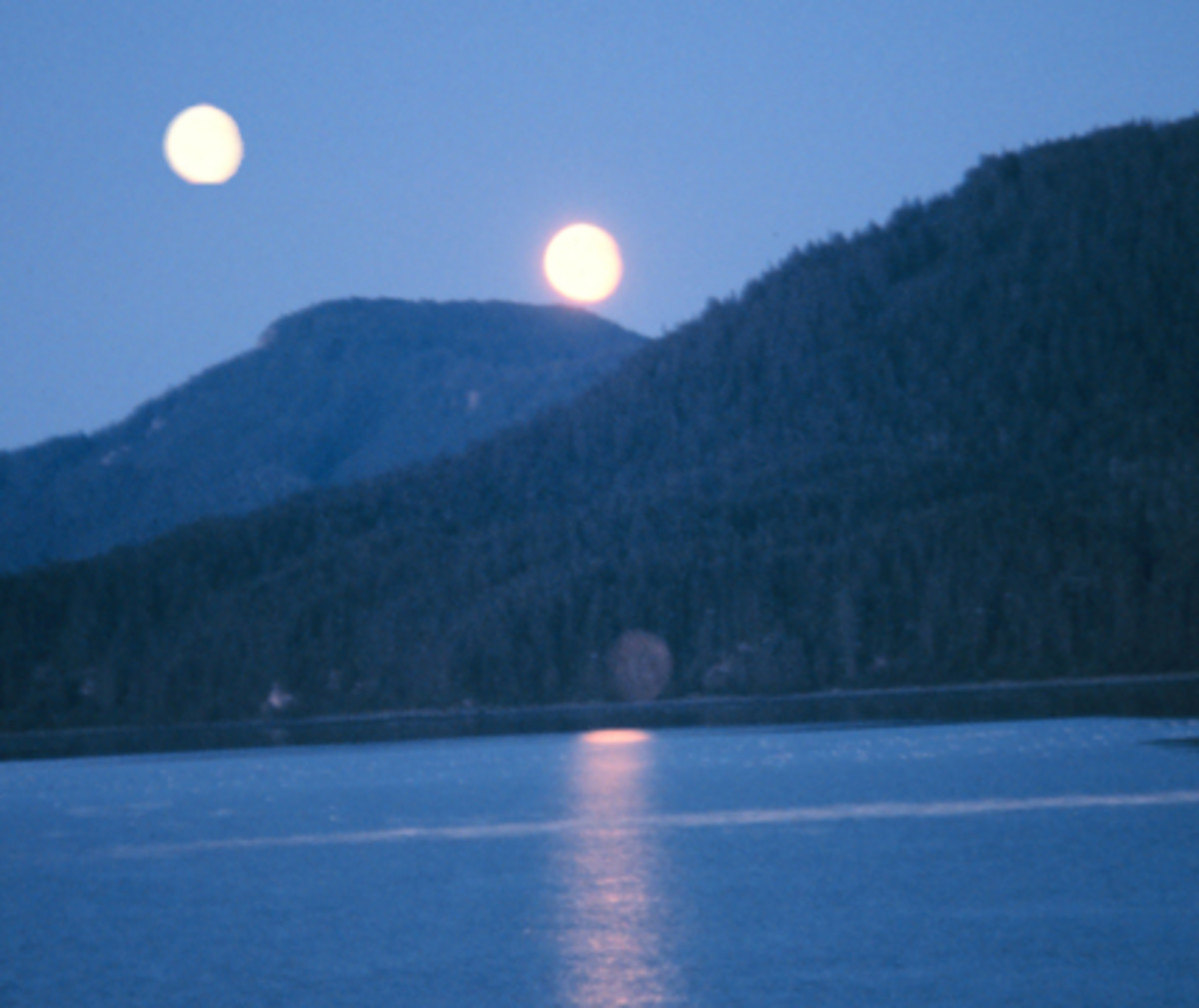 What would the earth look like if it had two moons. What kind of effect would two moons have on the planet earth.