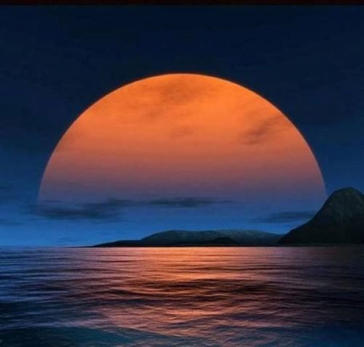 Sometime I look at the moon and think that its one of the most beautiful sights I've ever seen.