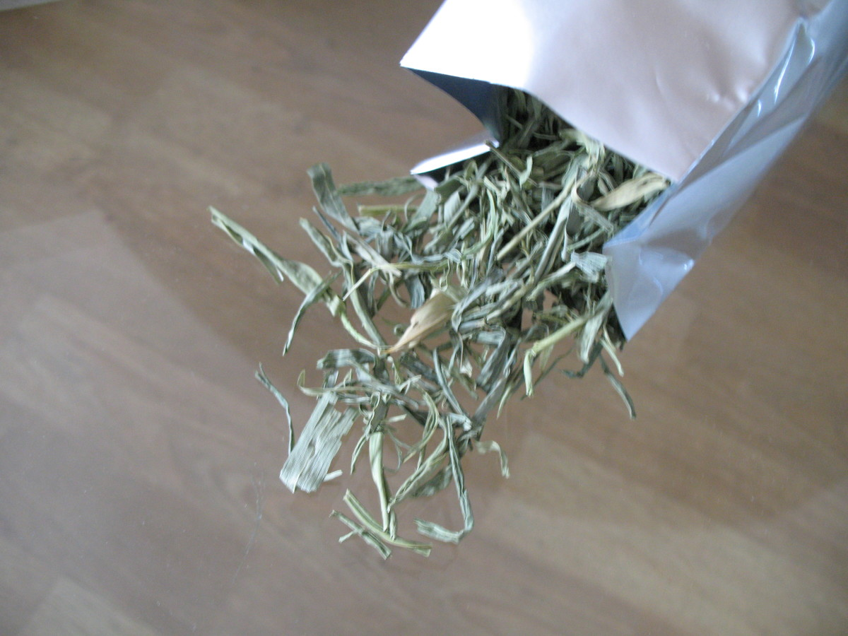 Bamboo Leaf's Tea
