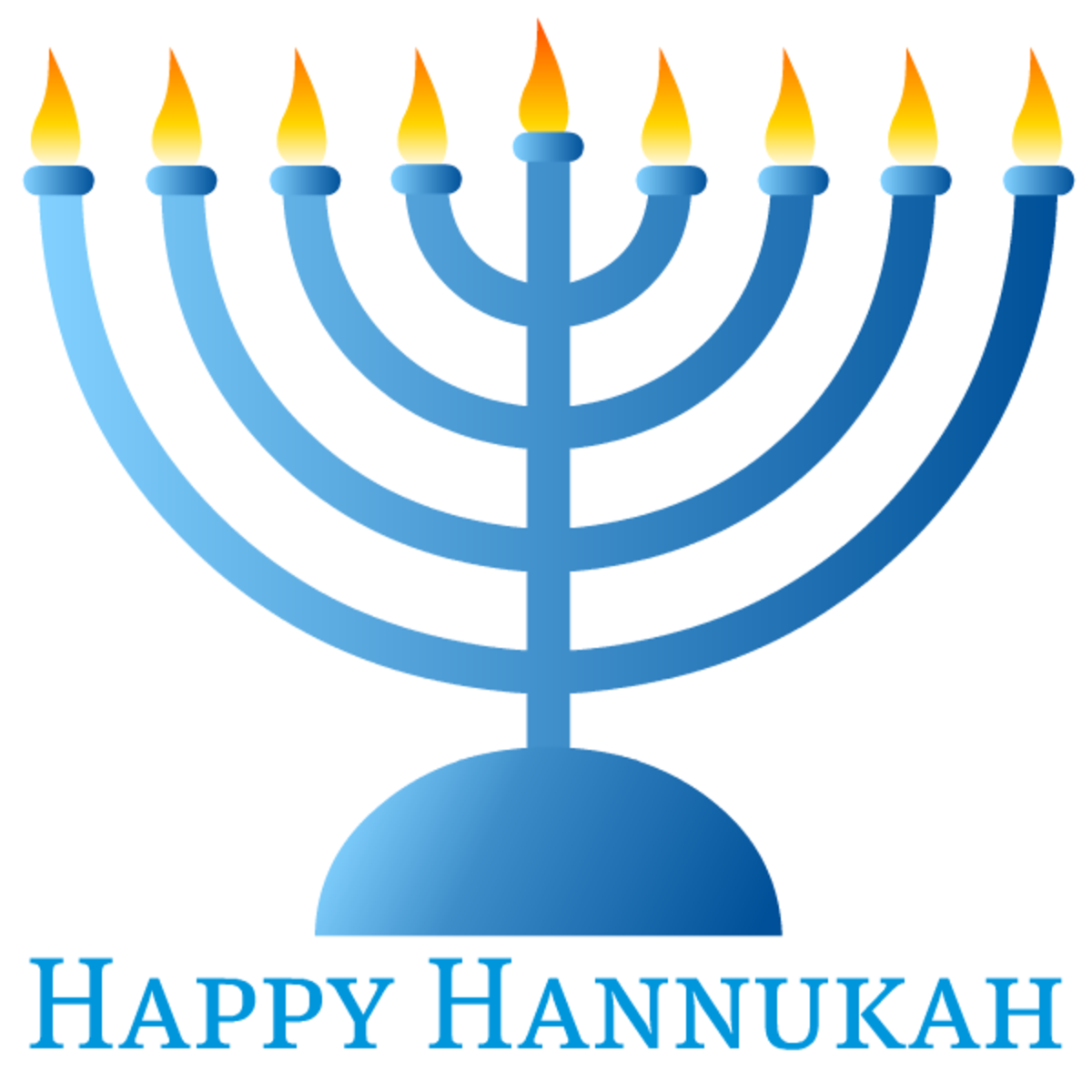 Follow the instructions in the left column to download the Hanukkah cards