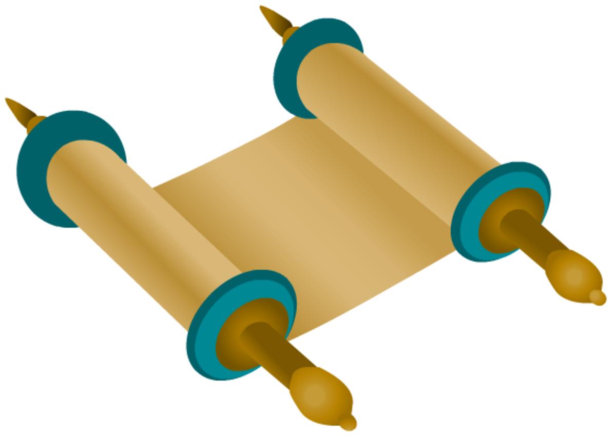 Hanukkah symbols: Torah